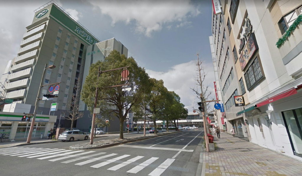 佐賀市駅前通り